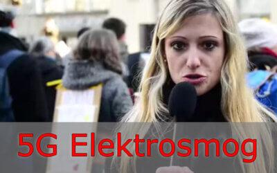 5G Elektrosmog Demo in der Schweiz